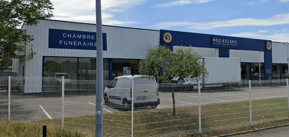 Photographie de la Pompes Funèbres ROC ECLERC à Bourg-lès-Valence