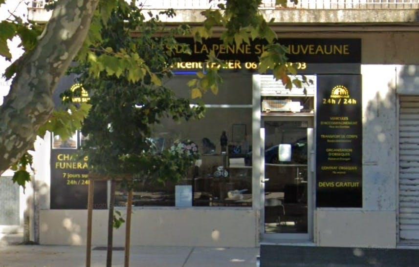 Photographies des Agence Funéraire et Marbrerie Provencale à La Penne-sur-Huveaune