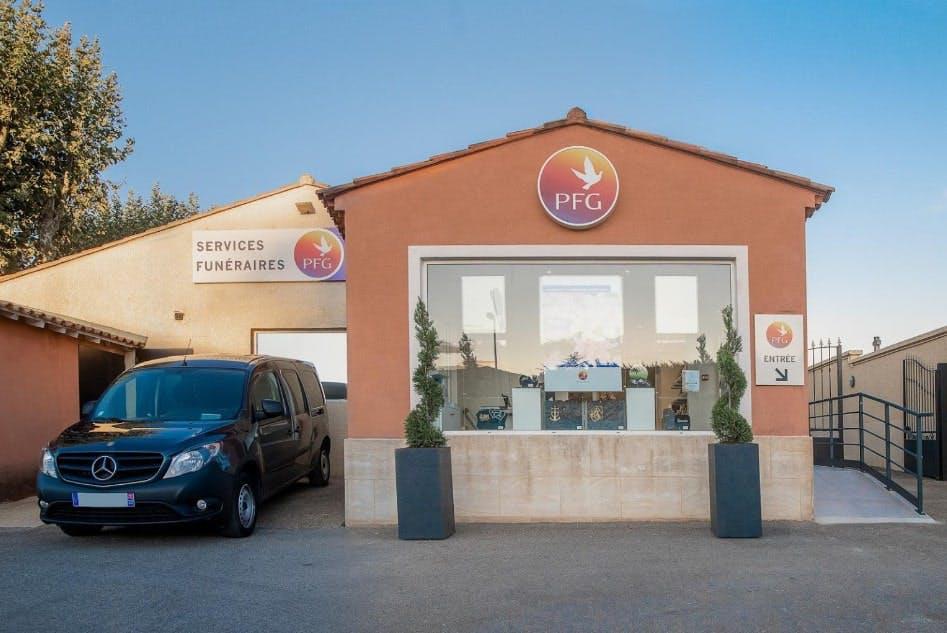 Photographies des Pompes Funèbres Genérales à Beaucaire