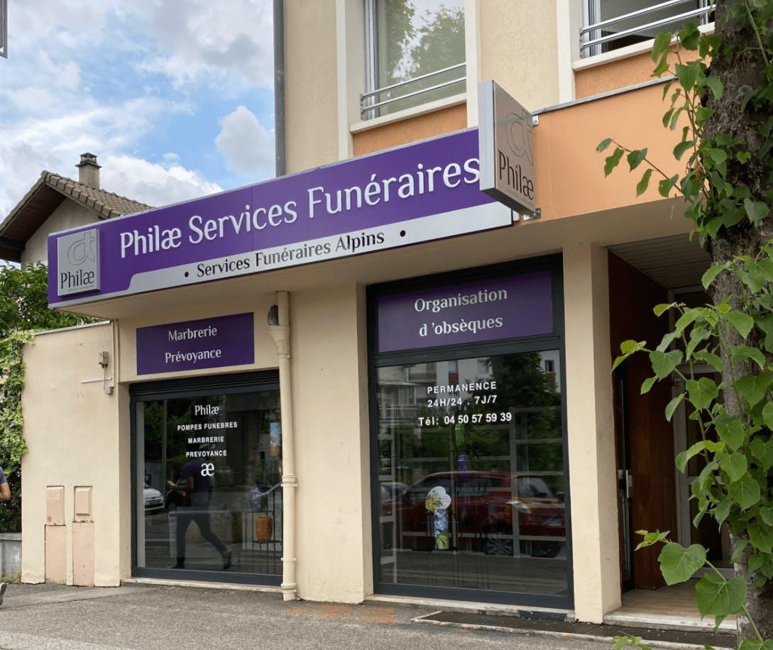 Photographie de la Philae - Services Funéraires Alpins de Annecy