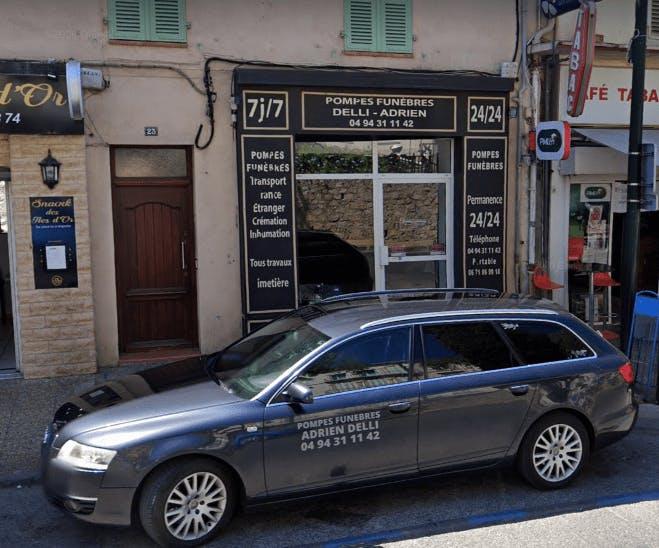Photographie de la Pompes Funèbres Adrien Delli à Hyères