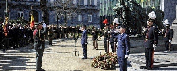 hommage belgique soldat inconnu