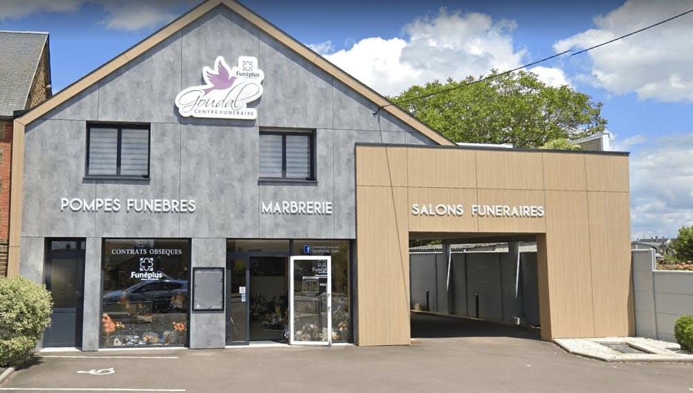 Photographie du Centre Funéraire Goudal à Saint-Hilaire-du-Harcouët