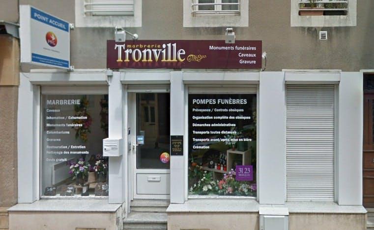 Photographies des Pompes Funèbres Marbrerie Tronville à Ars-sur-Moselle