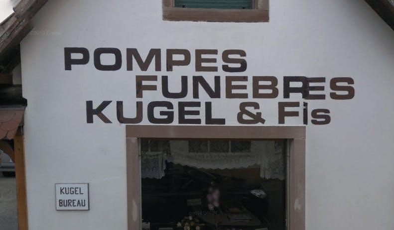 Photographie de la Pompes Funèbres KUGEL & Fils de la ville de Mundolsheim