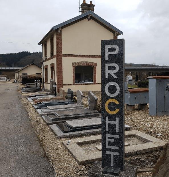 Photographie Marbrerie Prochet de Toutainville