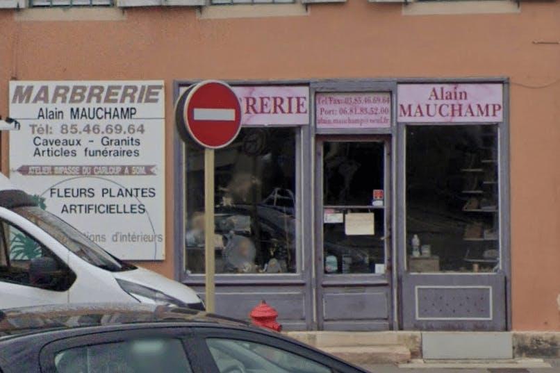 Photographie Marbrerie Mauchamp Alain Chalon-sur-Saône