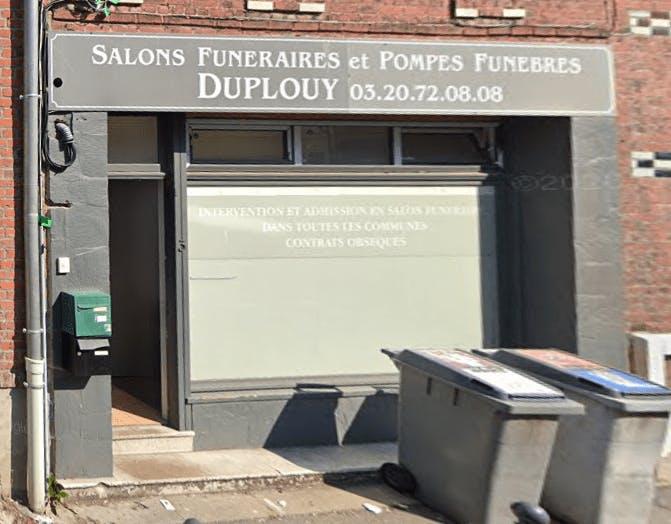 Photographie de la Pompes Funèbres Duplouy de Villeneuve-d'Ascq