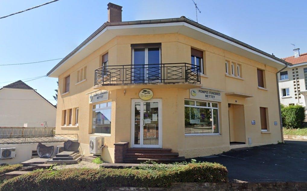 Photographies des Pompes Funèbres et Marbrerie Mettey à Montbéliard