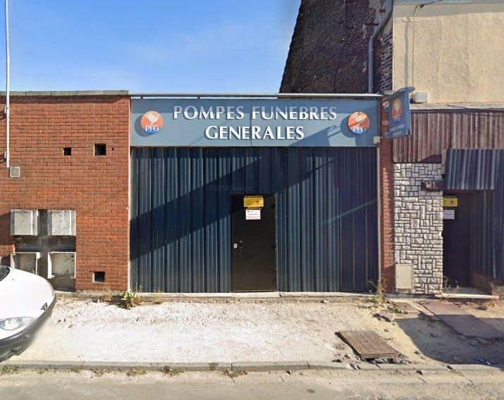 Photographies des Pompes Funèbres Générales à Vieux-Condé