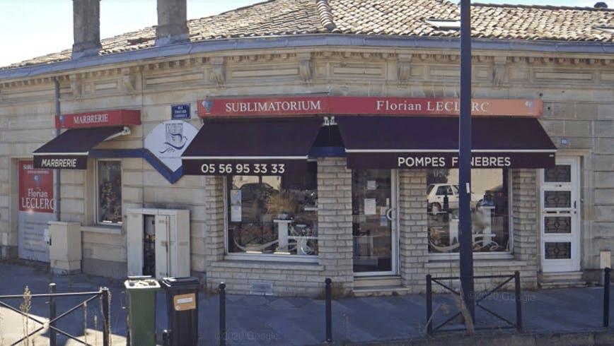 Photographie de la Pompes Funèbres Florian LECLERC  à Le Bordeaux