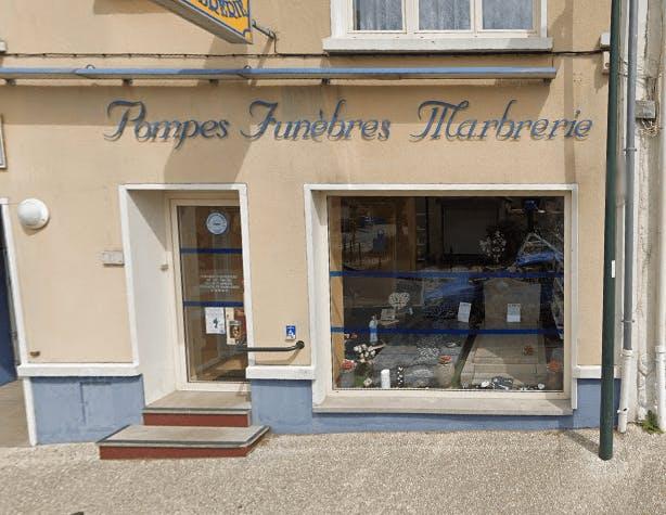 Photographie Pompes Funèbres et Marbrerie Toupet-Sotty de Marquise