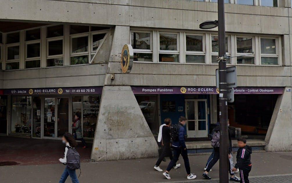 Photographies des Pompes Funèbres Roc'Eclerc à Ivry-sur-Seine