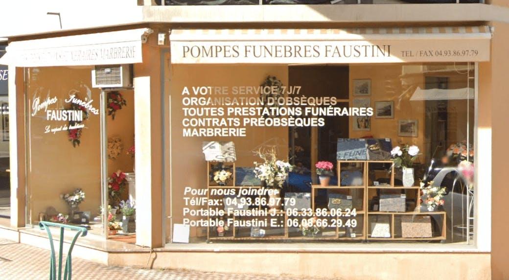 Photographie de Pompes Funèbres Faustini de Menton
