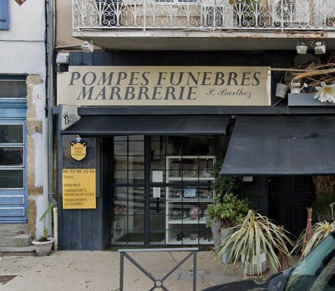 Photographies des Pompes Funèbres Patricia Barthez à Sainte-Cécile-les-Vignes