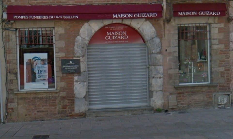 Photographie des Pompes Funèbres et Marbrerie Maison Guizard