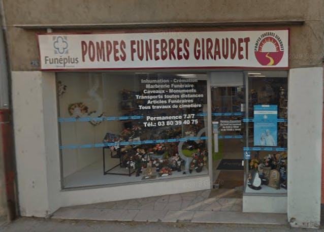 Photographie Pompes Funèbres Giraudet de Pontailler-sur-Saône