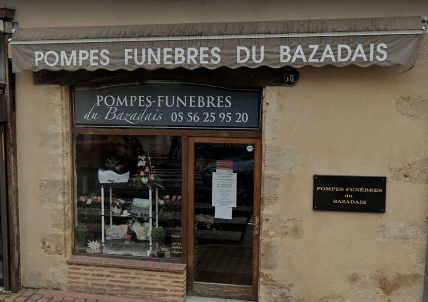 Photographie Pompes Funèbres du Bazadais de Bazas