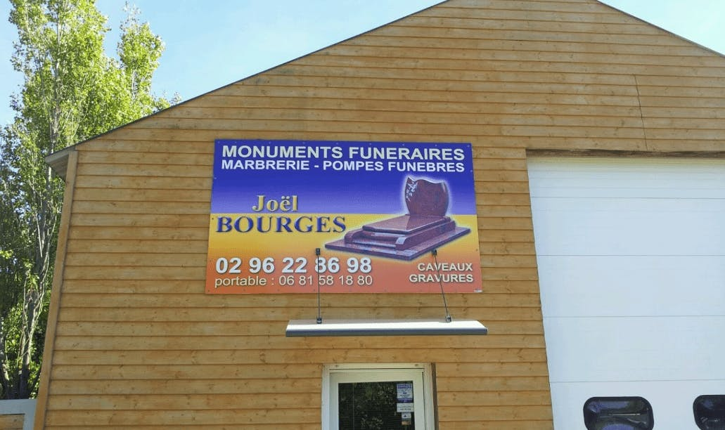 Photographie de la Pompes Funèbres Bourges à Pleubian