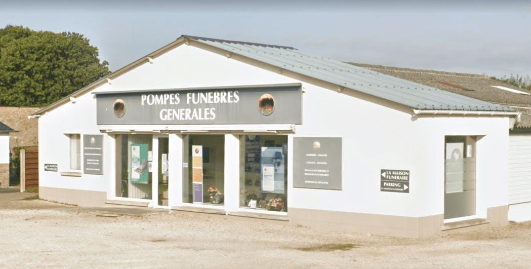 Photographie de la Pompes Funèbres Générales à Broons