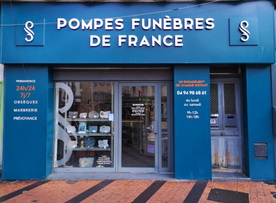 Photographie de Pompes funèbres de France de Toulon