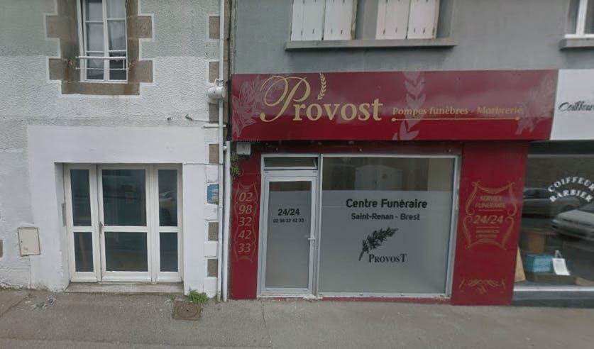 Photographie de la Pompes Funèbres et Marbrerie Provost à Saint-Renan