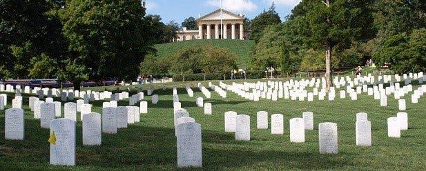 Le cimetière militaire d'Arlington