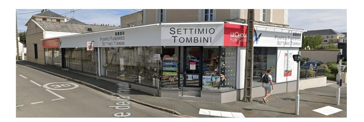 Photographie de la POMPES FUNÈBRES SETTIMIO TOMBINI à Saint-Etienne
