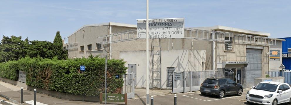 Photographie de la Pompes funèbres phocéennes à Marseille
