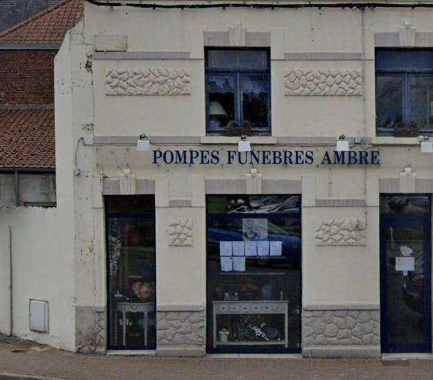 Photographie de la Pompes Funèbres Ambre de la ville de Blendecques