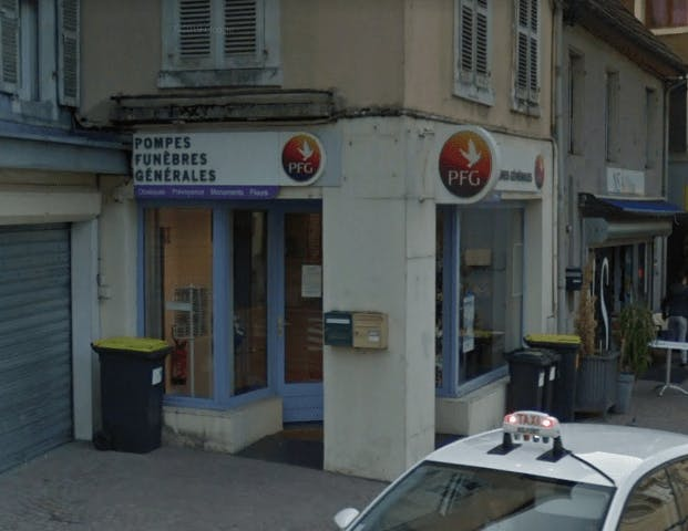 Photographie de la Pompes Funèbres Générales à Héricourt
