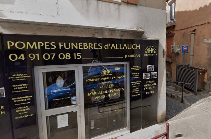 Photographie de la Pompes Funèbres et Marbrerie Provençale à Allauch