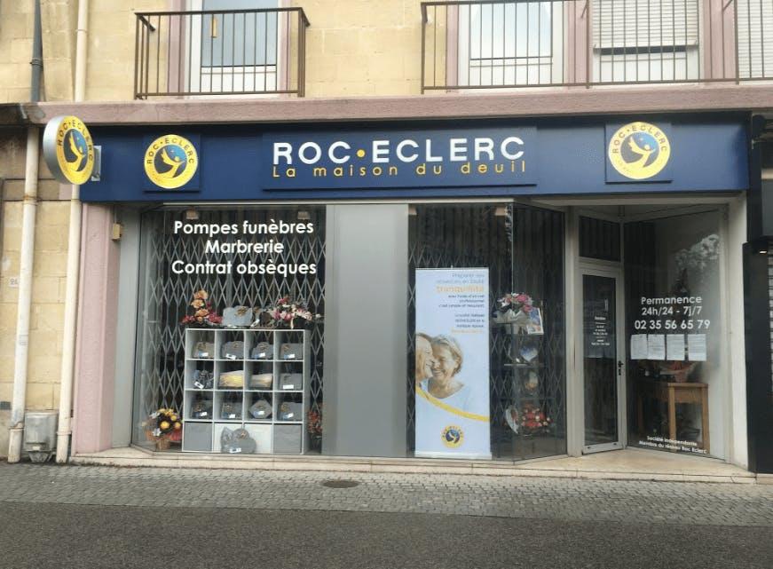 Photographie Pompes Funèbres Roc-Eclerc d'Yvetot