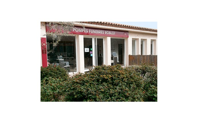 Photographie de la Pompes Funèbres ROBLOT  à Grasse