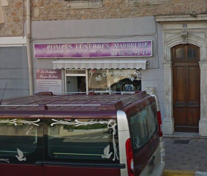 Photographies des Pompes Funèbres Marbrerie Saint-Christophe à Bagnols-sur-Cèze