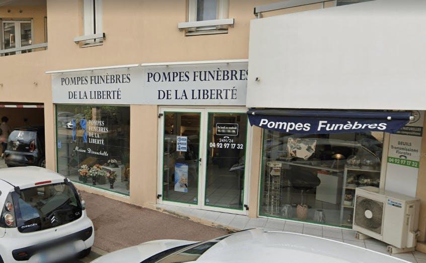 Photographie Pompes Funèbres de la Liberté de Mandelieu-la-Napoule