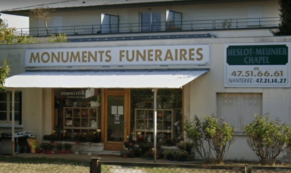 Photographie Pompes Funèbres Heslot-Meunier Chapel de Rueil-Malmaison