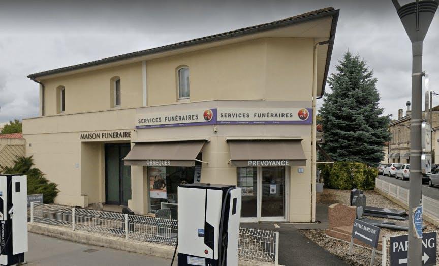 Photographie de la Pompes Funèbres Générales à Le Bordeaux