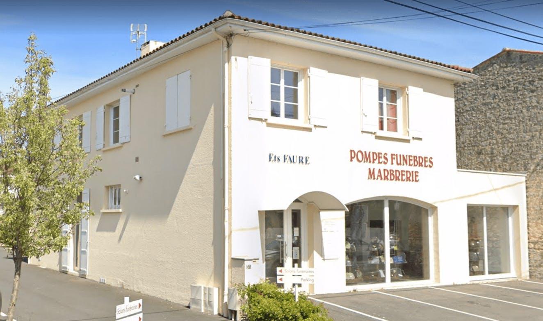 Photographie de la Pompes Funèbres Marbrerie Saintaises - Ets Faure de Saintes