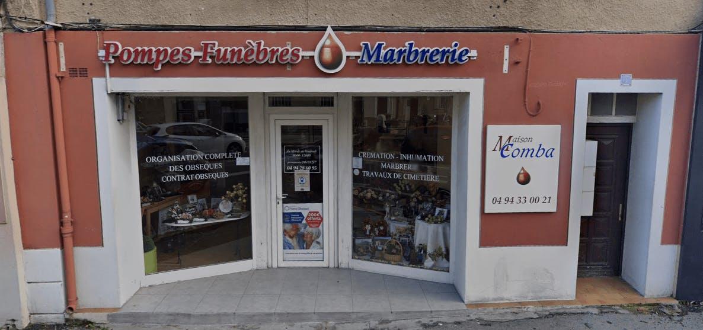Photographie de la Pompes Funèbres Marbrerie Maison Comba de la ville de La Farlède