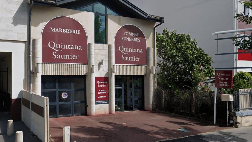 Photographie de la Pompes Funèbre Quintana Saunier à Le Bordeaux