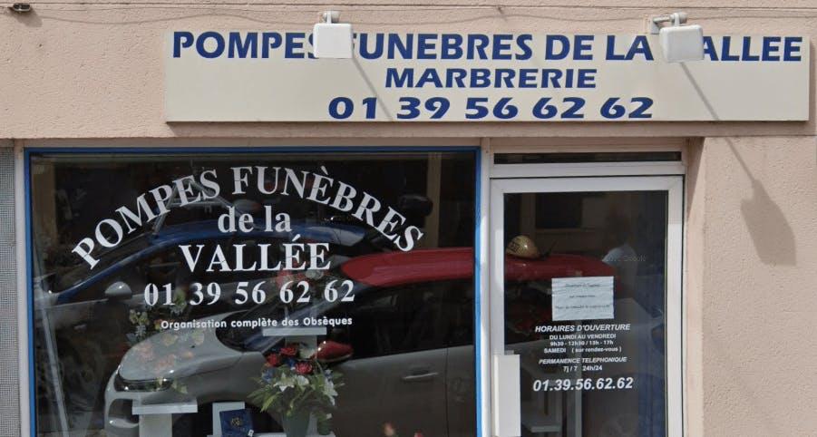 Photographie de la Pompes Funèbres de la Vallée de la ville de Jouy-en-Josas