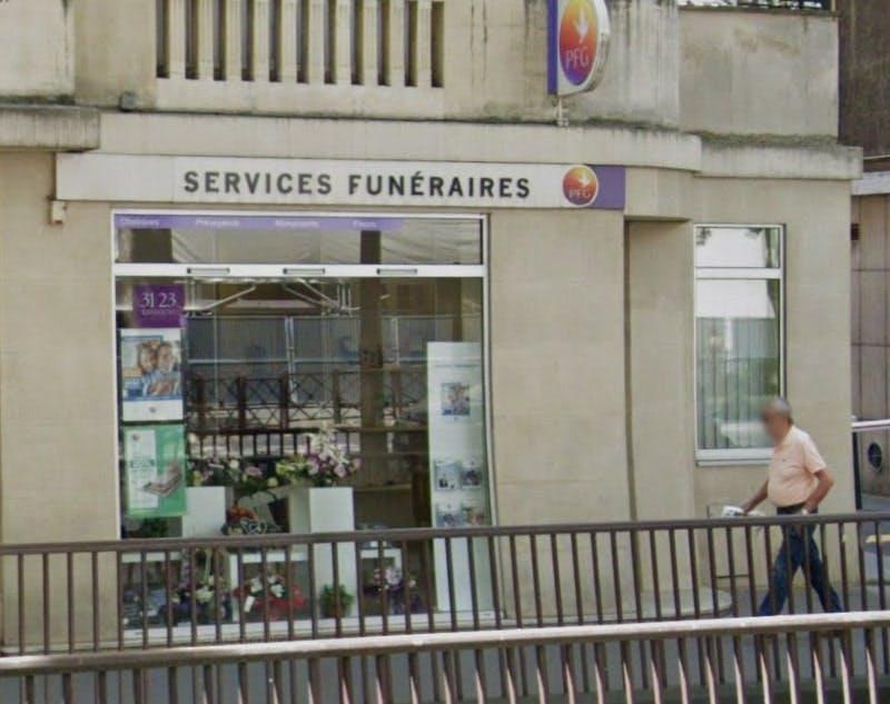 Photographies des Pompes Funèbres Générales à Neuilly-sur-Seine
