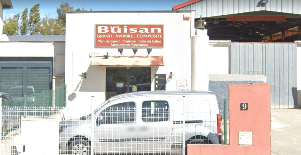 Photographie de la Marbrerie Buisan à Elne