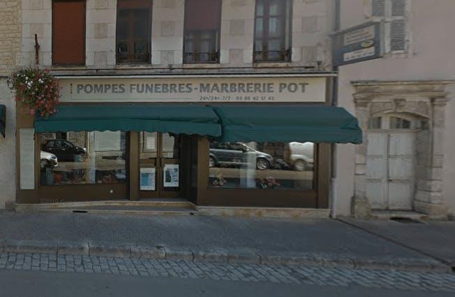 Photographie de la Pompes Funèbres et Marbrerie Pot  à Chablis