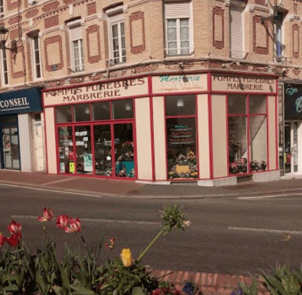 Photographie de la Pompes Funèbres Marbrerie Charles Valin de la ville de Fécamp