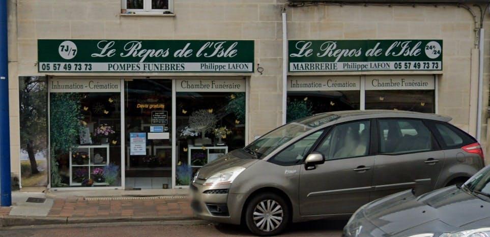 Photographie Pompes Funèbres Le Repos de L'Isle de Saint-Seurin-sur-l'Isle