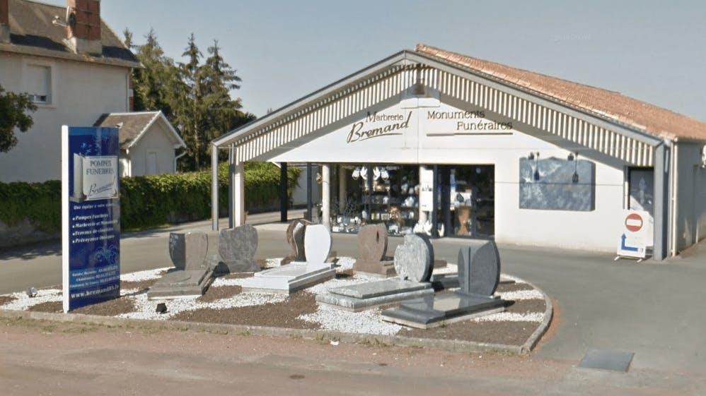 Photographie de la Pompes Funèbres Brémand de la ville de Sainte-Hermine