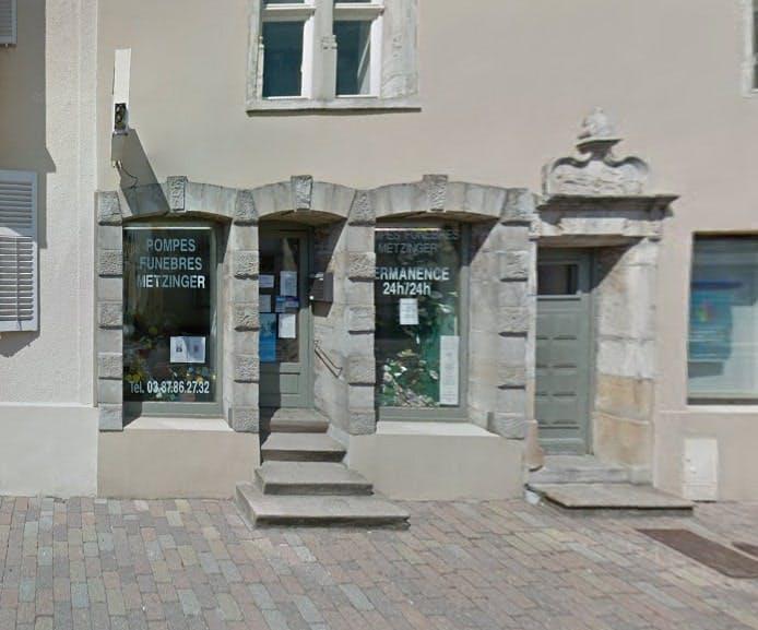 Photographies des Pompes Funèbres Marbrerie Metzinger à Morhange