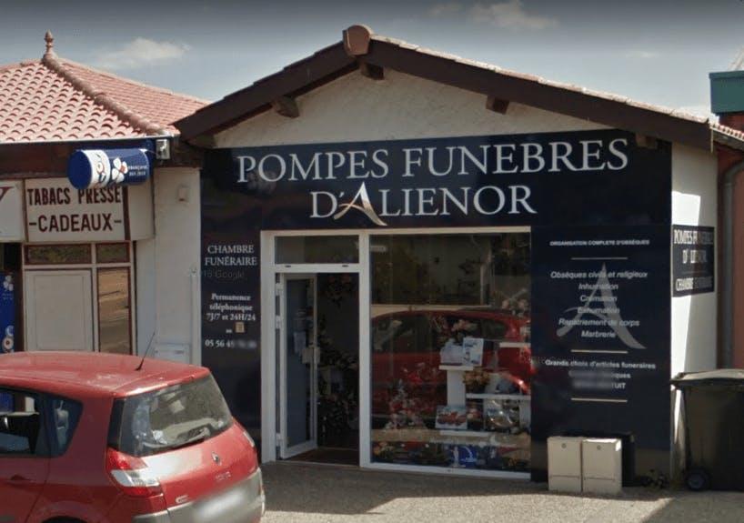Photographie Pompes Funèbres d'Aliénor de Parempuyre